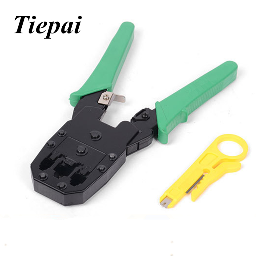 Tiepai Multitool 4P 6P 8P Ethernet Internet Cable Crimping Plier ...