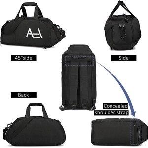 Image 2 - Scione גברים נסיעות ספורט שקיות Mens תיק גדול נסיעות תיק מטען באיכות גבוהה נוסעים ומטען עבור גברים