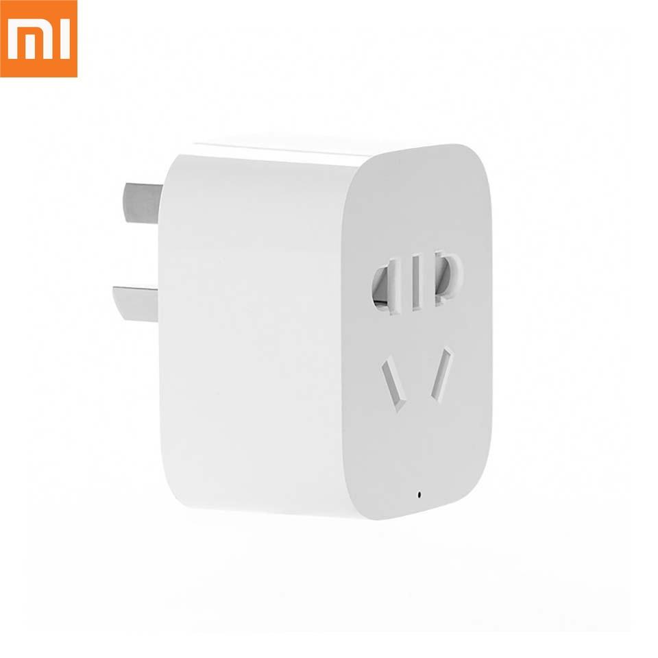 Xiaomi Mijia Smart Home Socket WiFi Phone Wireless Remote Control Smart Plug For Smart Mi Home APP Remote Control