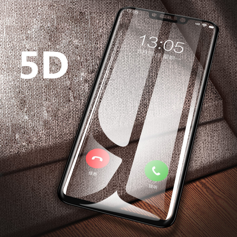 5D Tempered glass film on for Samsung Galaxy C7 Pro A7 2018 A750 J8 Plus A9 Star Lite J4 J6 J2 Screen protector full Cover film