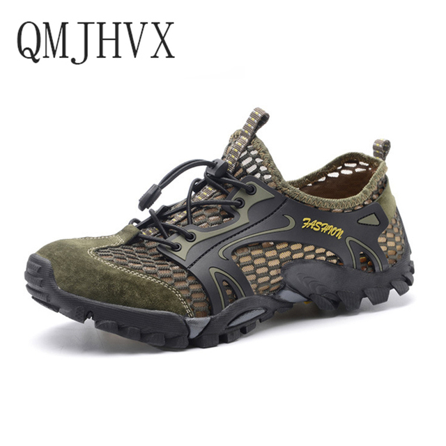 Summer new men's outdoor tracking River shoes non-slip wear-resistant breathable quick-drying shoes men and women casual shoes