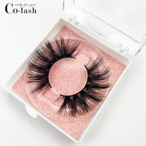 Image 4 - Colash שווא עין ריסים טבעי 100% בעבודת יד עבה False ריסים הארכת סקסי רך ריסי מינק ריסים כיכר תיבה