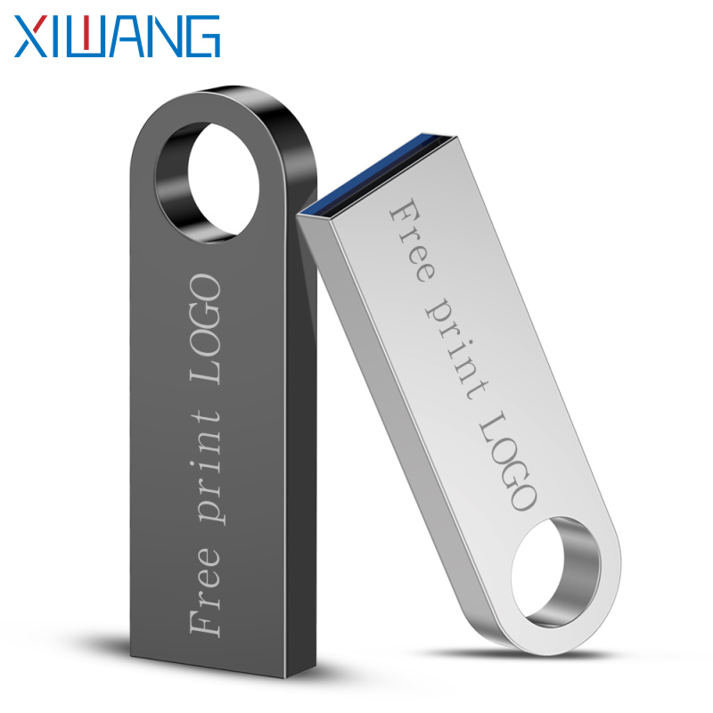 Usb Flash Drive 128gb Usb Memory Stick Metal Pen Drive 64gb 32gb 16gb 8gb Memory Stick 3.0 Pendrive Free Shipping & Custom Logo