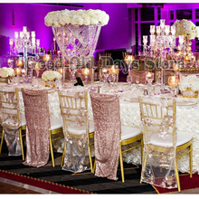 ФОТО 80cm tall crystal table chandelier wedding centerpiece