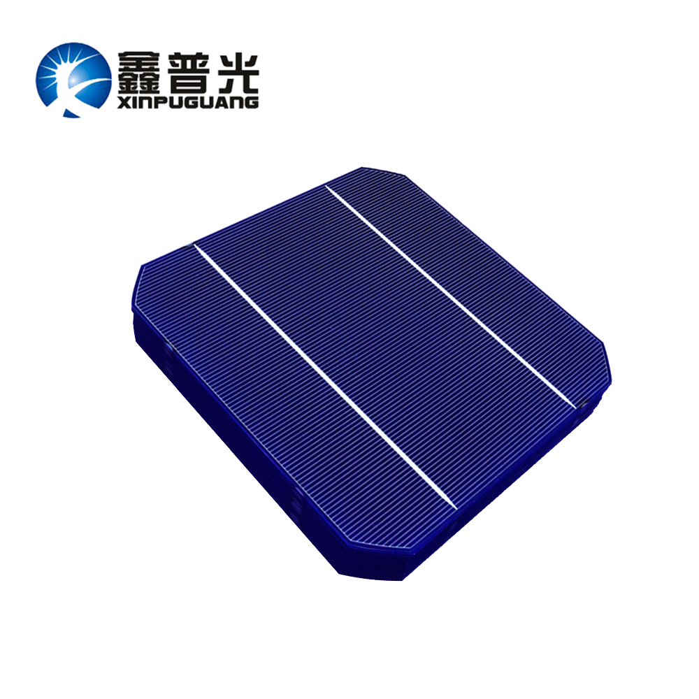 XINPUGUANG 30PCS 156*156MM 4.8w mono cell PV Photovoltaic monocrystalline Silicon DIY kit solar panel 0.5v Grade A efficient 6x6