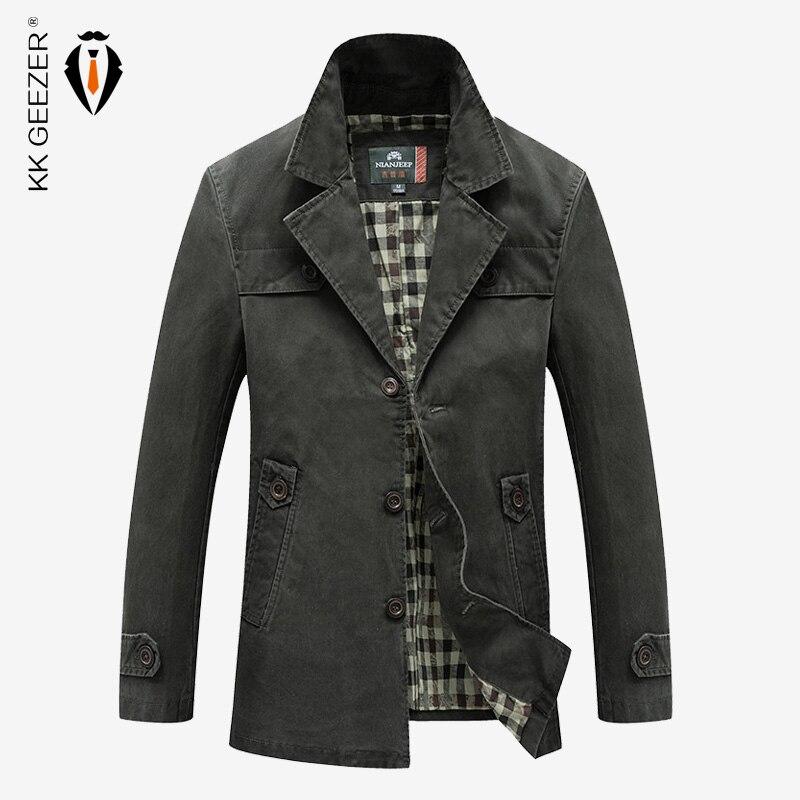 2018 Männer Business Casual Baumwolle Jacke Berühmte Solide Farbe Mode Designs Slim Fit Pilot Bomber Jacke Hohe Qualität Klassische Mantel