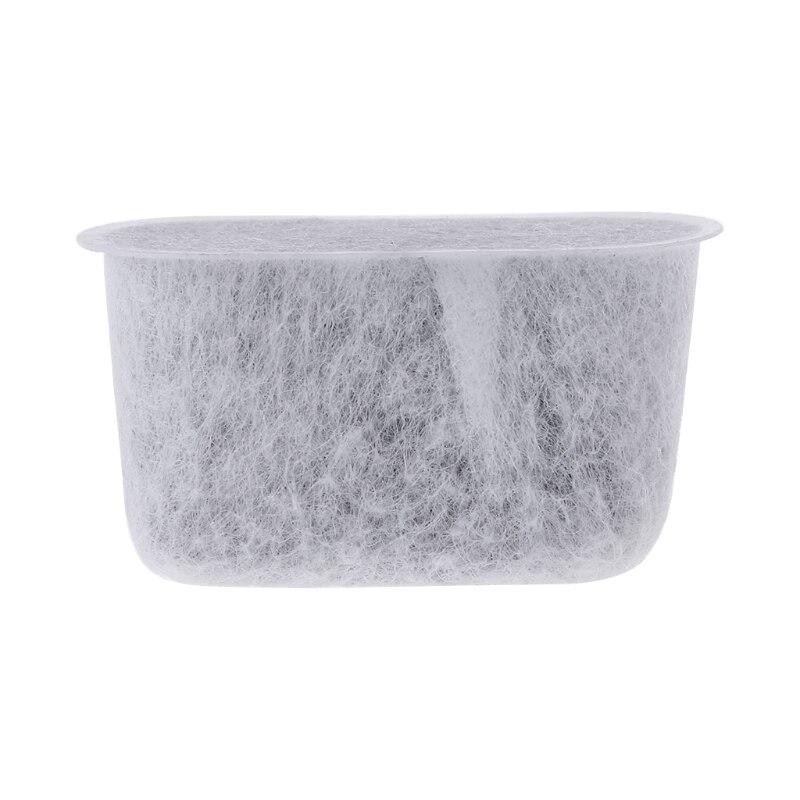 Marca 6 piezas máquina de café filtro de carbón activado no tejido de bambú carbón agua núcleo cocina cafetera Accesorios