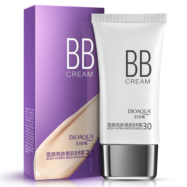 12Pcs BIOAQUA Sunscreen BB Cream Foundation Face Beauty Make Up Concealer HydratingMoisturizing Whitening Cosmetics