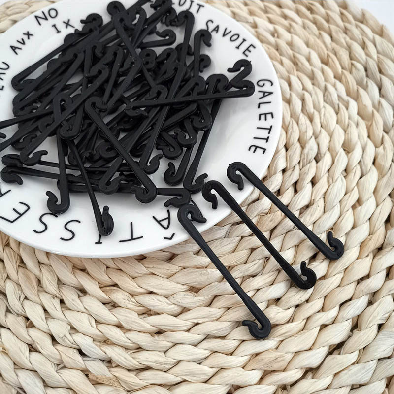 50Pcs Vegetable Grafting Clip Support Rattan Clip PP Material Bayonet Barb Fixing Strapping Tool Agriculture Supplies