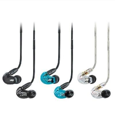 SE215 Hi-fi estéreo Cancelación de ruido 3,5mm SE 215 en auriculares del oído con el Cable separado caja al por menor auricular Cancelación de ruido bajo