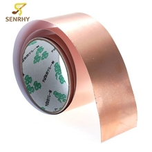 3 Feet X 50mm Copper Foil Tape EMI Shielding for Guitars Pedals 3ft X 2 Inch No Soldering Required Guitar Accessaries