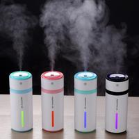 240ML USB Car Air Ultrasonic Humidifier Colorful LED Lights Mini Mist Maker Aroma Essential Oil Diffuser