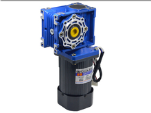 цена на 220V AC gear motor NRV40 worm gear motor 120W slow single-phase self-locking motor 18RPM-240RPM