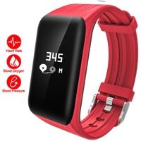 Luxury Sport Men Smart Watch Heart Monitor Fitness Bracelet LED Digital Rubber Waterproof Clock Activity Tracker Wristband