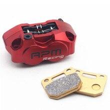 Best price RPM Motor Motorcycle Brake Calipers Brake Pump + Brake Pad For Yamaha Aerox Nitro BWS 100 Zuma RSZ JOG 50 rr Force
