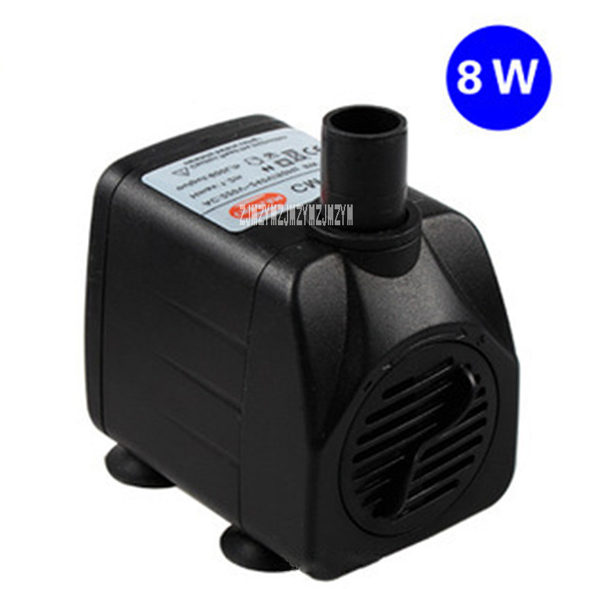 High-quality 220V 8W Submersible Pump 8w CM-168 Pump Ultra-quiet Water Pump Submersible Pump 600L / H 122cm 8mm/12mm Hot Selling high quality pump wbz 25