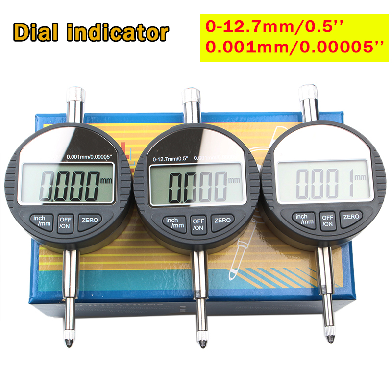 0.001mm/0.00005 Metric/Inch Range Dial Micro Indicator Measurement Instrument Precision Digital Electronic Micrometer Gauge Tool hot sale power amp board 68w 68w lm3886 amplifier board with circuit protection