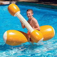 Summer Pool Beach swimming float Inflatable Canoe Air Mattress Water amusement toy Unisex PVC Aquatics Swimming Pool Accessorie