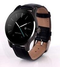 แฟชั่นสไตล์K88Hสมาร์ทดูหนังนาฬิกาข้อมือMTK2502บลูทูธHeart Rate Monitor PedometerโทรออกสำหรับA Ndroid IOS