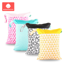 Fashion Baby Diaper Bag Organizer Multifunctional Waterproof Reusable Travel Wet Dry Bags Portable Handbag Nursing