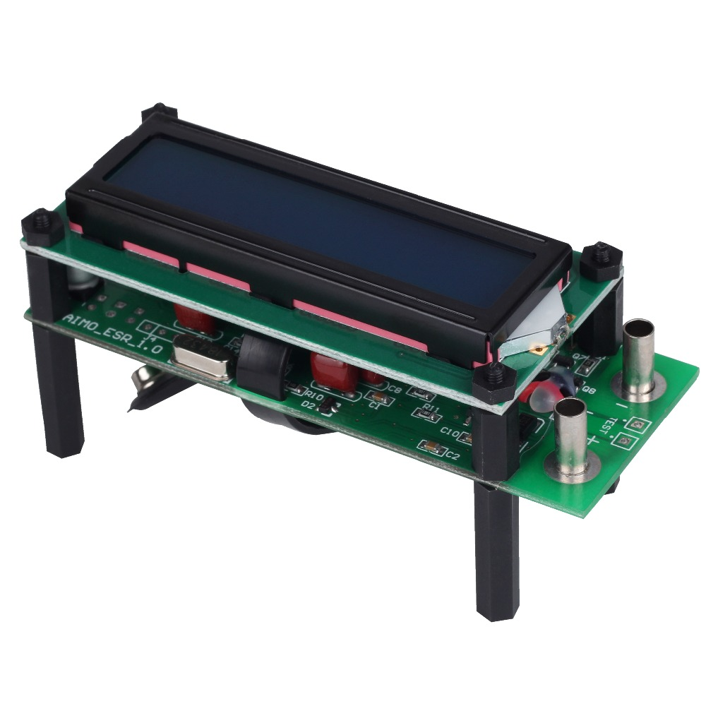 BSIDE ESR01 Auto Range Digital LCR Tester Resistance Capacitance Inductance Measurement Capacitor ESR Meter USB Power