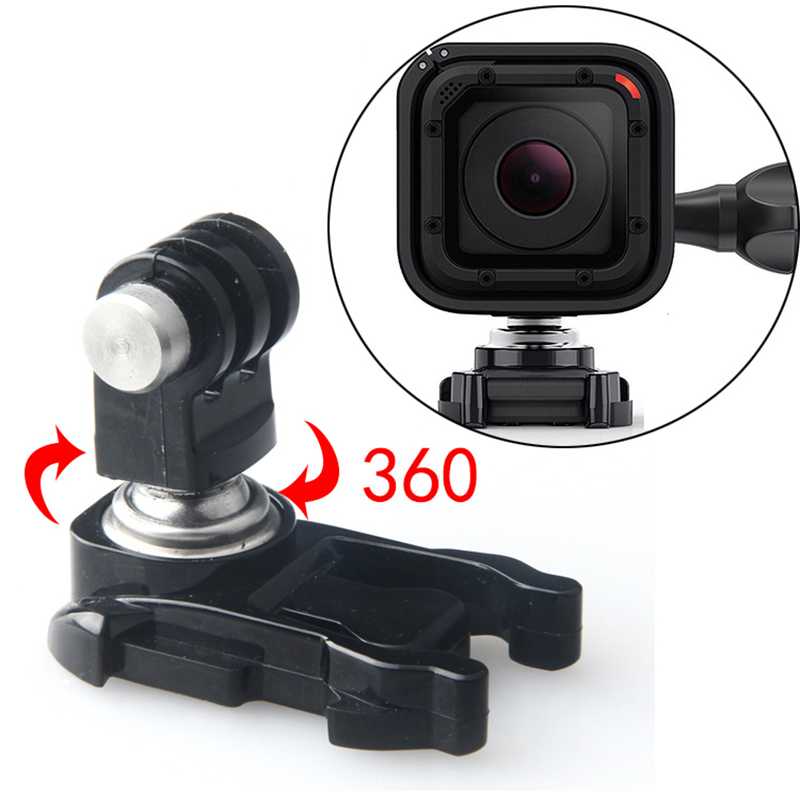360 Degree Rotatable Ball Head Quick Release Buckle Mount Base For Gopro 7/6/5/4/3 Session sjcam eken Xiaomi YI 4k Action Camera360 Degree Rotatable Ball Head Quick Release Buckle Mount Base For Gopro 7/6/5/4/3 Session sjcam eken Xiaomi YI 4k Action Camera