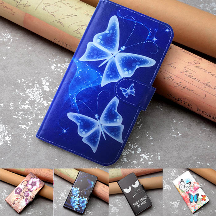 New Print Flip Wallet PU Leather Case For Doogee X10S Case Cover Book Case Ultra-thin Cover Phone Bag