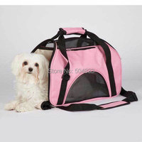 PET DOG CARRIER Chihuahua Yorkie Maltese Toy Poodle Puppy CARRIER TOTE TRAVEL BAG 2colours
