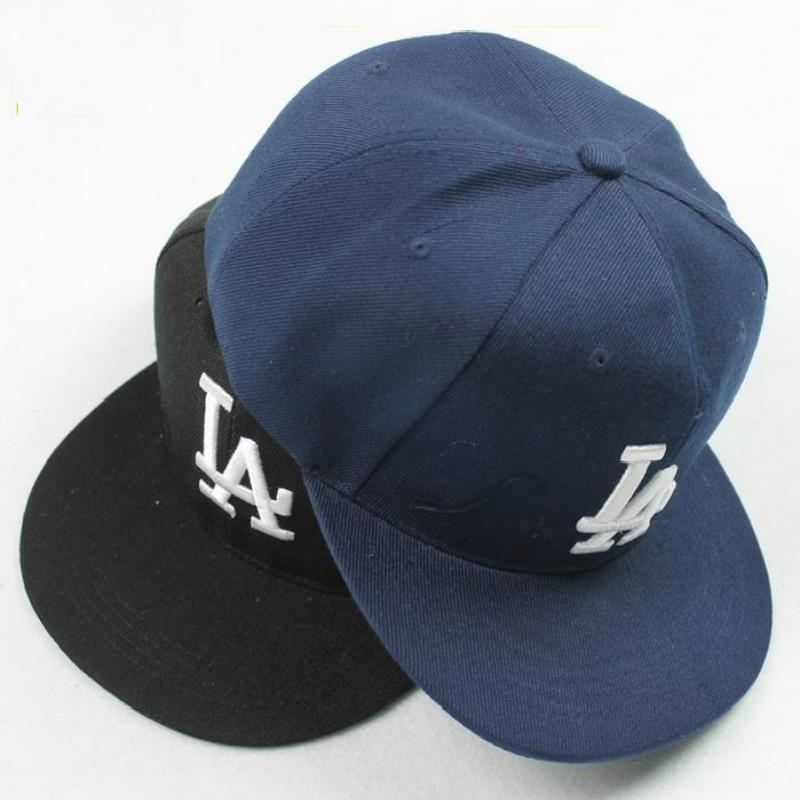 Ladybro LA Baseball Cap Men Women Snapback Cap Hat Female Male Hip Hop Bone  Cap Black Cool 2017 Brand Fashion Street Adjustable c1d7ed91b2b6