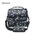 Osmond New 8L Storage Picnic Tote Lunch Bag Thermal Insulated Cooler Bag Lunch Box Food Portable Bag Campus Hiking