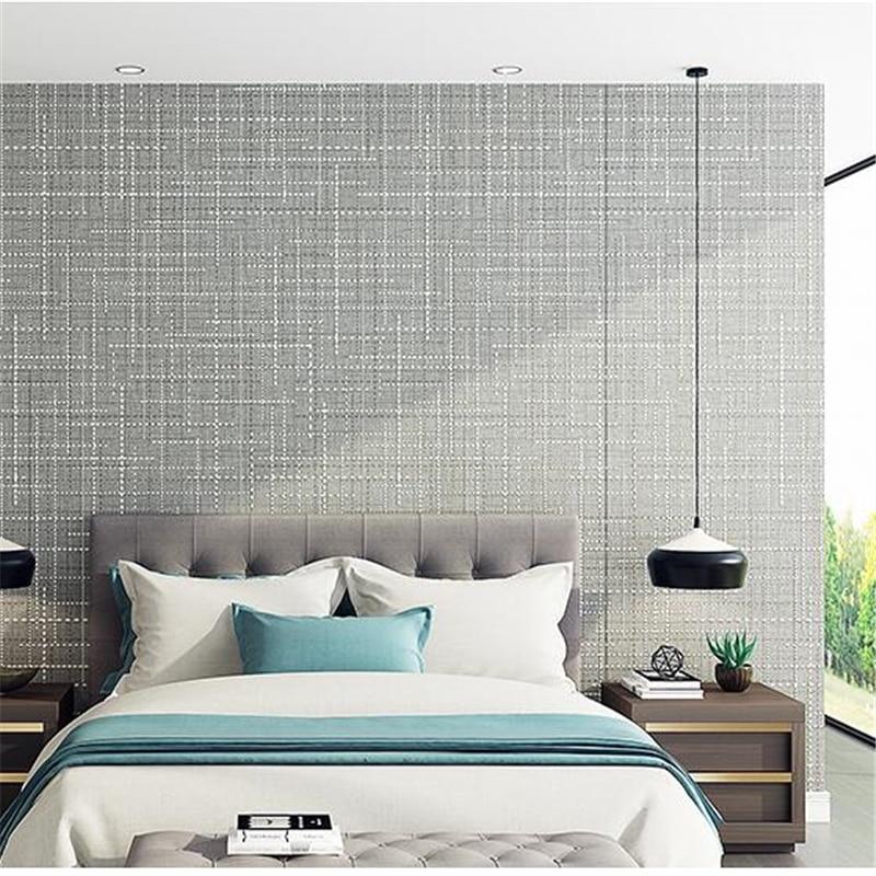 Beautiful Beibehang Elegant Plain Wallpaper Simple Modern Wallpaper Bedroom Warm  Wallpaper Living Room Full House Art Wallcoat Wall Paper In Wallpapers From  Home ...