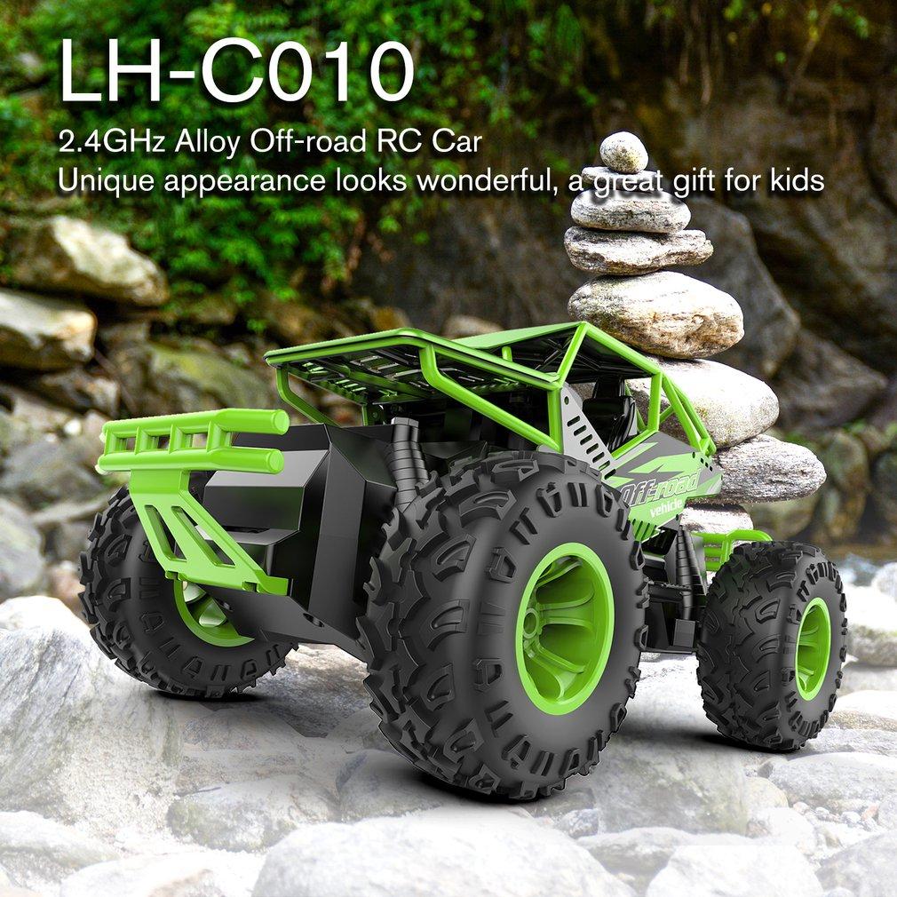 Lh-c010 4wd 2,4 Ghz Rc Auto Spielzeug Starke Power Legierung Off-road Klettern Crawler Fernbedienung Modell Fahrzeug Spielzeug Geschenk Für Kinder Sammeln & Seltenes