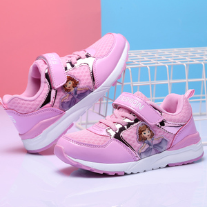 Image 3 - の子供の靴春女の子スニーカー幼児プリンセサソフィアスポーツ sapatos crianca buty sportowe dla dzieci 子 fille