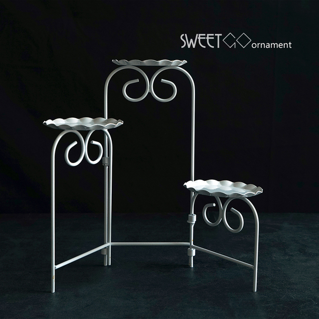 SWEETGO Cupcakes Ladder Stand Fold Able Cookies Decorating Tools For  Wedding Sweet Dessert Table Supplier Baker
