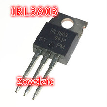 10PCS IRL3803PBF TO220 IRL3803 TO-220 New original 10pcs l7812cv to220 l7812 to 220 7812cv new and original ic