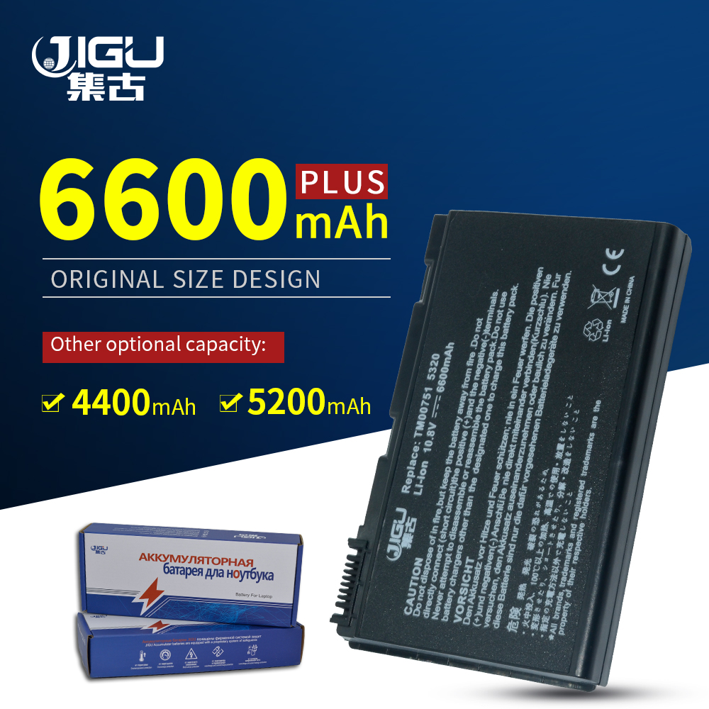 JIGU Laptop <font><b>Battery</b></font> For <font><b>Acer</b></font> Extensa 5620Z 5630 5630G 7220 <font><b>5210</b></font> 5220 5230 5420 5420G 5610 5620 7620Z TM00741 TM00751 GRAPE32 image