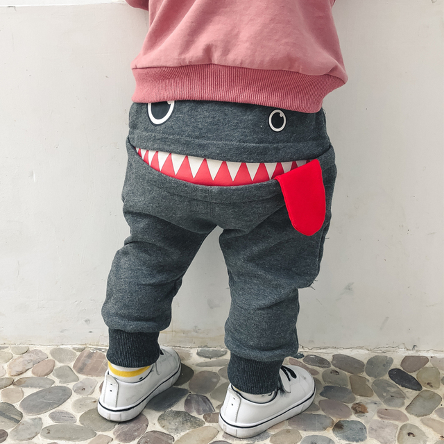 Funny Warm Cotton Pants