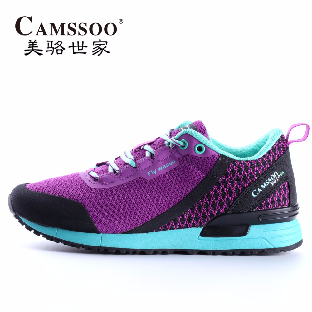 ФОТО CAMSSOO Women's Vogue Sport Running Shoes Sneakers For Men Sports Mesh Running Jogging Shoes Sneaker Woman Shoe  EUR 36--40