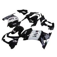 Aftermarket fairings parts for Kawasaki Ninja 250R 2008 2012 2014 EX250 08 09 10 14 ZX250R black west injection body fairing kit