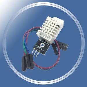 Image 1 - 10 개/몫 dht22 단일 버스 디지털 온도 및 습도 센서 모듈 전자 빌딩 블록 am2302 arduino 용