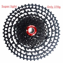 BOLANY MTB 11 Speed bike bicycle cassette Mountain Bicycle freewheel 11-50T Sprockets for Shimano Super light 370g