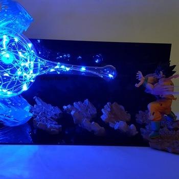 03414c9e Dragon Ball Lamp Son Goku Kamehameha Led Night Lights Table Lamp