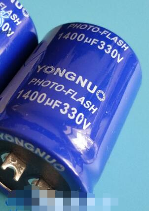 Yongnuo 330v 1400uf Photo Flash Capacitor 35*45mm