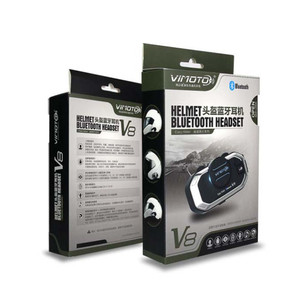 Image 5 - من السهل رايدر vimoto V8 850mAh خوذة تحوي سماعة بلوتوث دراجة نارية سماعة رأس ستيريو للهاتف المحمول وأجهزة الراديو الطريق لتحديد المواقع