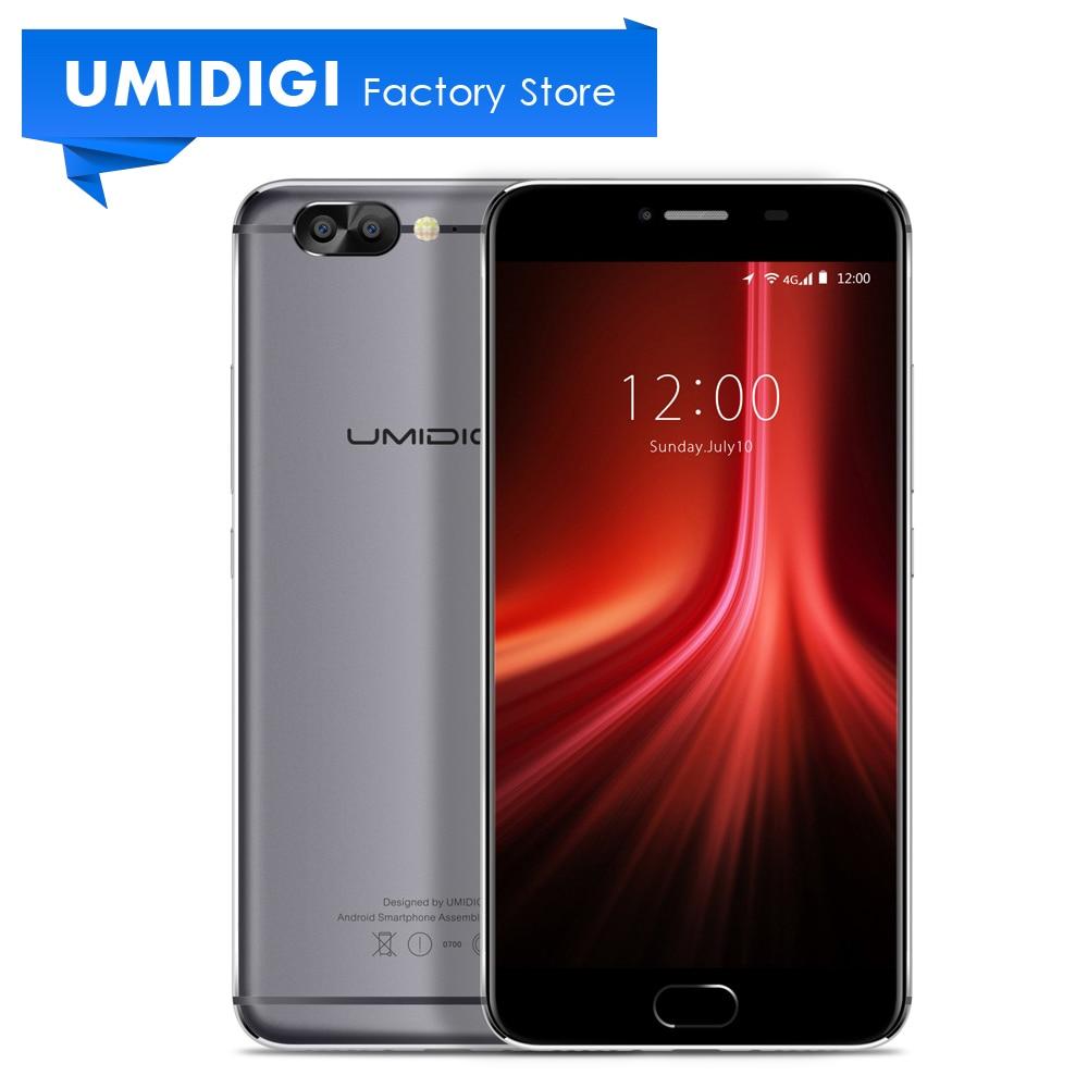 UMIDIGI Z1 5.5 inch Android Unlocked New Smartphone MTK MT6757 6GB RAM 4000Mah Cell Phone Fingerprint Mobile Phone Presale