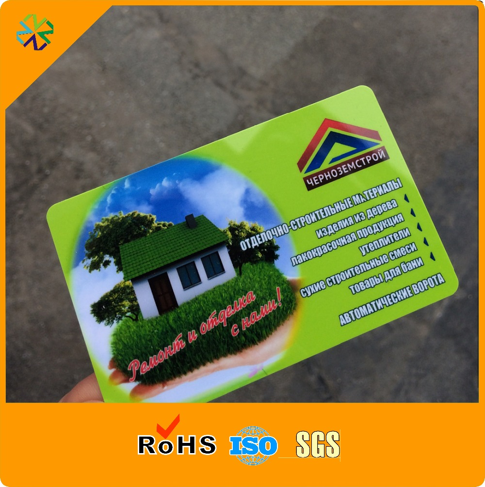 Full Color Printing PVC Card Promotional Cards