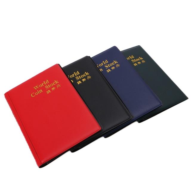 120 Lưới Nga Giữ Tiền Xu Tệ Bộ Sưu Tập Album Lưu Trữ Mini Kích Thước Pocket Wallet đối với Trang Chủ cứng tệ bảo vệ Tiếng Anh