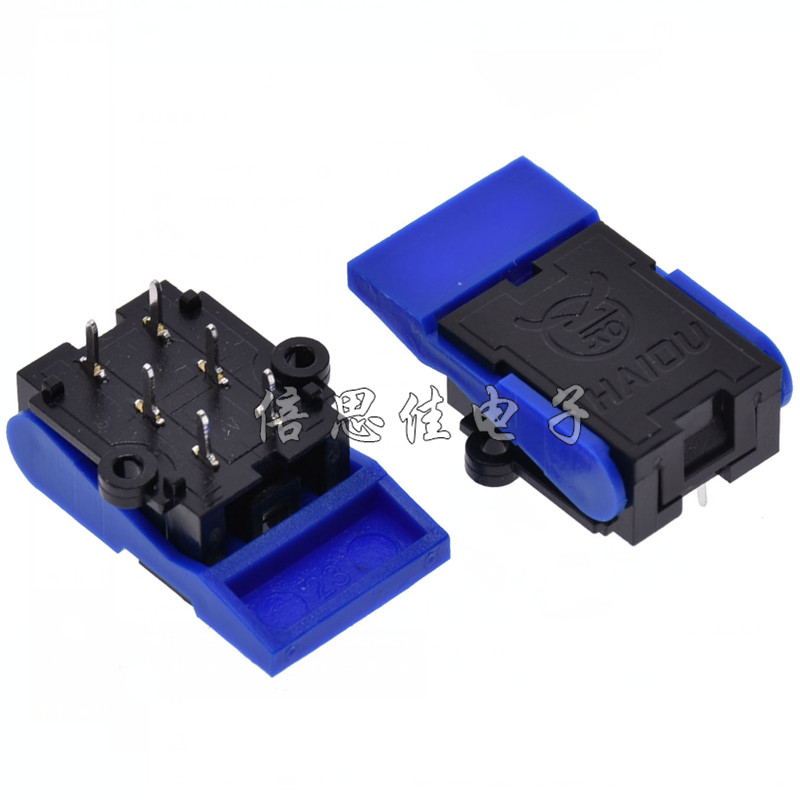 H012-10 telephone hook switch 6 pin, intercom doorbell switch, retainer reed switch blade, Repair Parts for Telephone