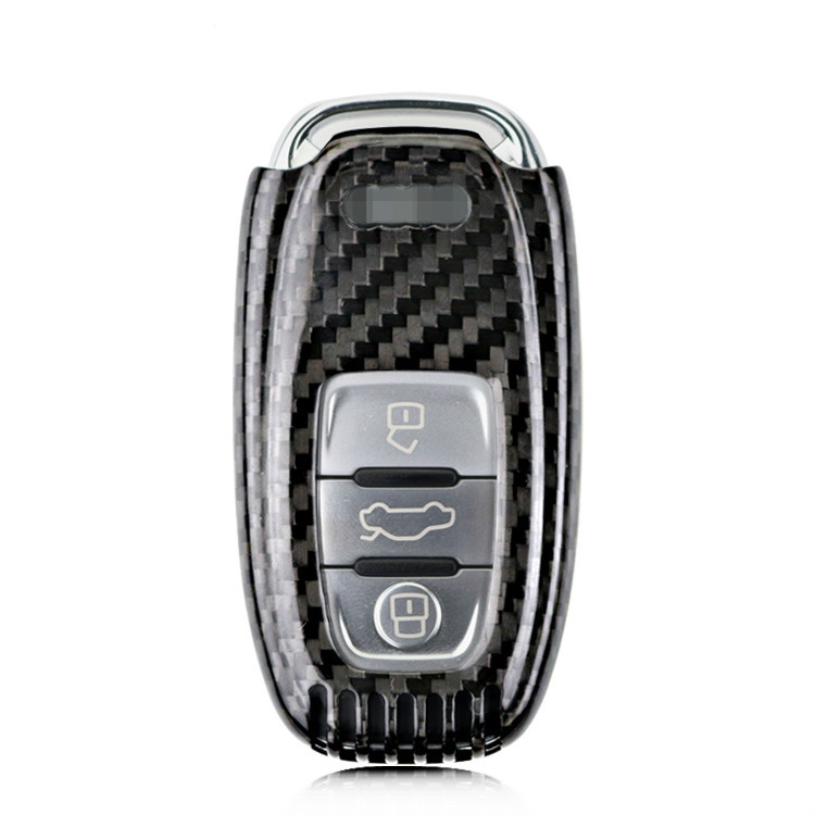 2017 New Genuine Carbon Fiber Car Auto Remote Keyless Entry Key Case Cover Fob Holder Shell for Audi A4 A6 TT Q3 Q5 Car Styling runwe electric shaver for men whole body washing razor touch electronic switch shaving machine barbeador face care rs988