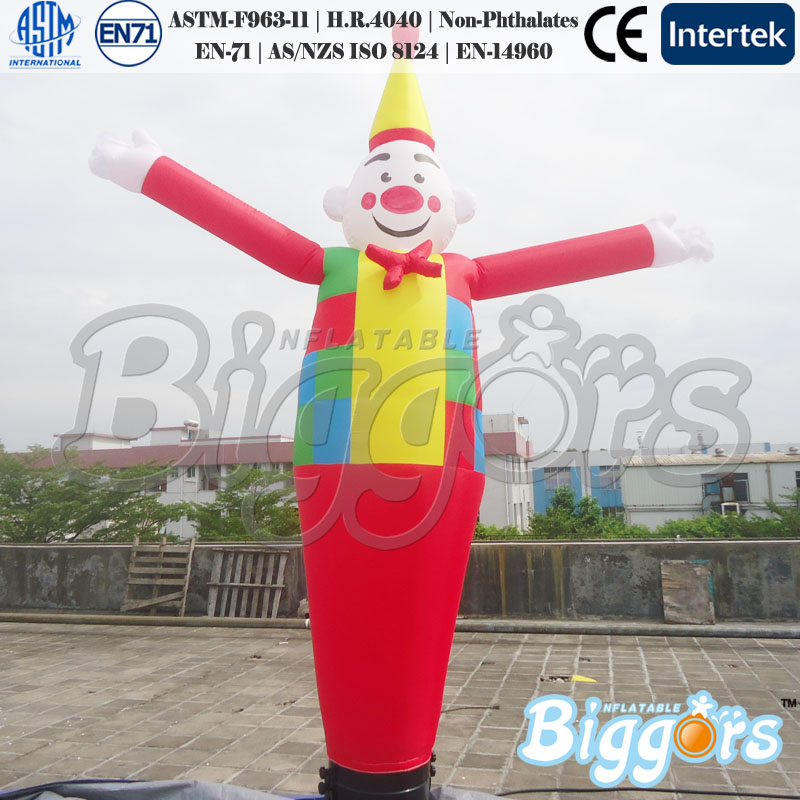 Inflatable air dancer for Christmas Inflatable Santa Claus tube man santa claus printed throw pillow case